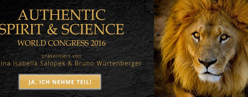 Einladung zum kostenlosen Authentic Spirit & Science World Online Kongress